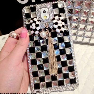 IPhone 6 Case, IPhone 6 Plus Case, IPhone 5s Case, IPhone 4s Case, Bling Wallet Case For Samsung Galaxy Note 4 Note 4 Edge S6 S6 Edge S5 S4 S3, Bowknot bling phone case