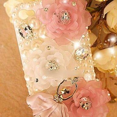 IPhone 6 Case, IPhone 6 Plus Case, IPhone 5s Case, IPhone 4s Case, Bling Wallet Case For Samsung Galaxy Note 4 Note 4 Edge S6 S6 Edge S5 S4 S3, Dancing ballet bling phone case