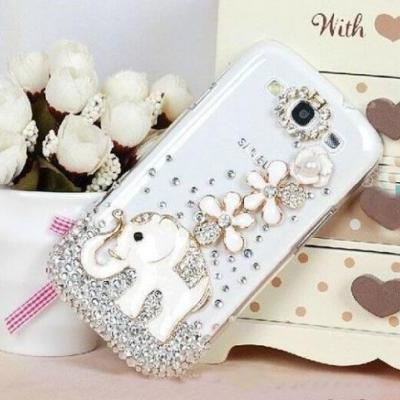 Elephant crystal bling iPhone 7 Plus, iPhone 6 6s case, iPhone 6 6s Plus case, iPhone 5s SE case, iPhone 5c case, bling wallet case for samsung galaxy note 4 note 5 s7 edge s6 edge s5