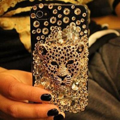 Sparkly Golden Leopard bling iPhone 7 Plus, iPhone 6 6s case, iPhone 6 6s Plus case, iPhone 5s SE case, iPhone 5c case, bling wallet case for samsung galaxy note 4 note 5 s7 edge s6 edge s5