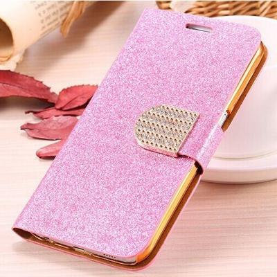 Pink Luxury bling phone wallet flip case cover, Bling iPhone 7 Plus leather wallet case, iPhone 6 6s Plus leather case, iPhone 5s SE leather wallet case, iPhone 5 5c leather cover, bling wallet case for samsung galaxy note 5 note 4 s7 edge s6 edge s5