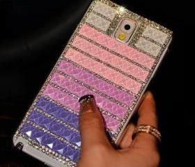 Purple pink bling iP..