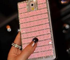 Pink Bling iPhone 7 ..