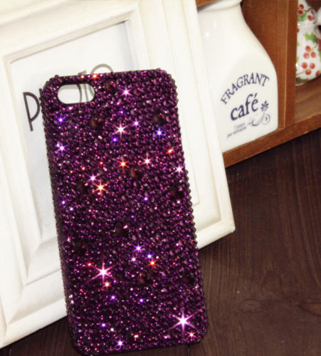quality design 3d812 5c339 Purple Bling IPhone 7 Plus, IPhone 6 6s Case, IPhone 6 6s Plus Case, IPhone  5s SE Case, IPhone 5c Case, Bling Wallet Case For Samsung Galaxy Note 4 ...