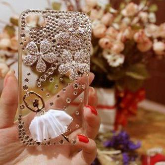 Dancing ballet bling iPhone 7 Plus, iPhone 6 6s case, iPhone 6 6s Plus case, iPhone 5s SE case, iPhone 5c case, bling wallet case for samsung galaxy note 4 note 5 s7 edge s6 edge s5